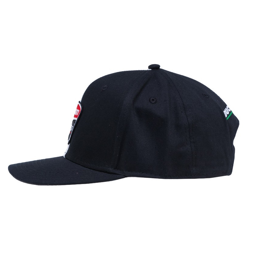 2017 Ducati Desmo GP Men's Flatbrim Cap Black/Red Official MotoGP Merchandise | eBay