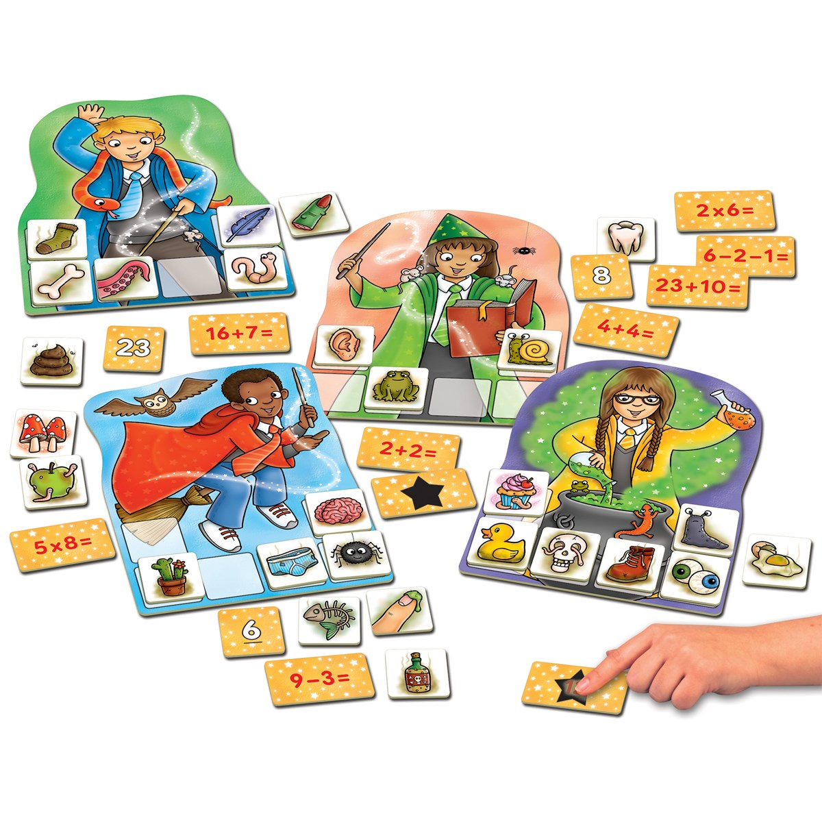 Orchard Toys 092 Magic Maths Number & Counting Game Kids Children ...