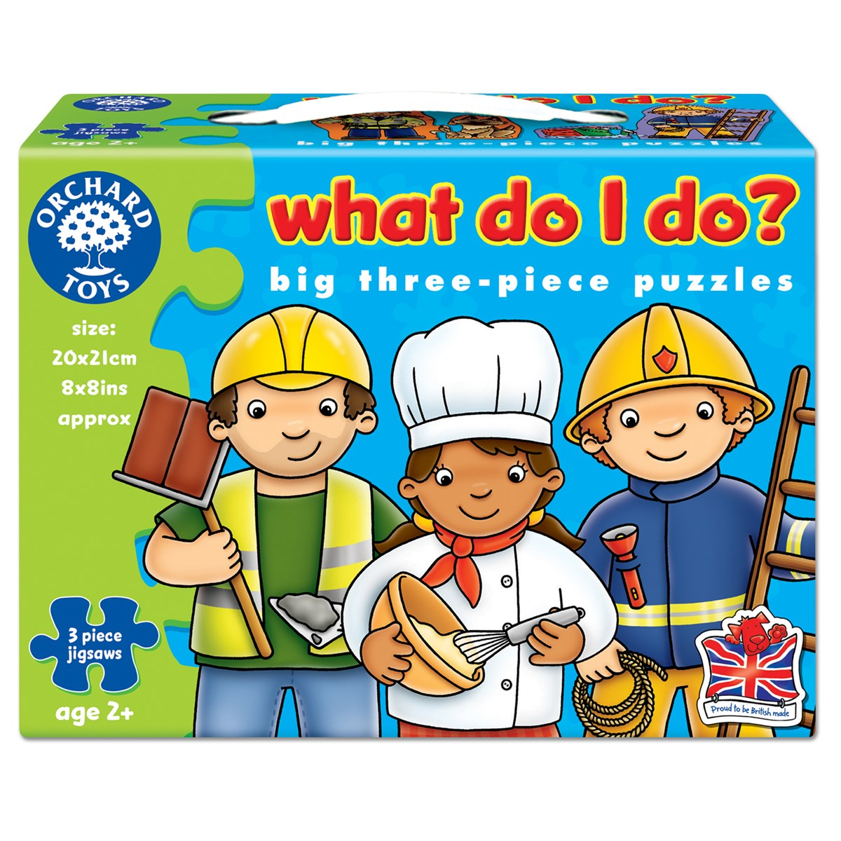 Details about Orchard Toys 213 What Do I Do? First Jigsaw Puzzles Toddler  Children Age 2yrs+