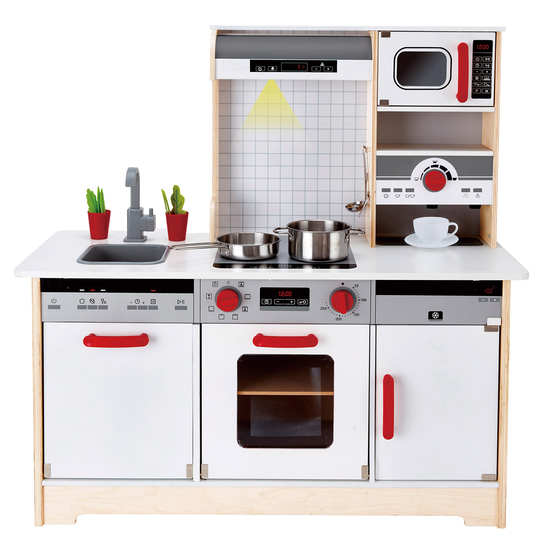 New! HAPE E3145 Delicious Memories Wooden Play Kitchen