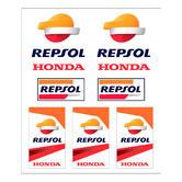 Sentinel Repsol Honda MotoGP 2018 Sticker Pack 7 Multi Colour Official  MotoGP Merchandise 22ec1ead8a30