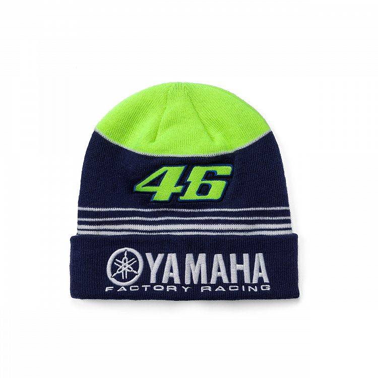 5f57156cb11 Sale! Yamaha Factory Racing Valentino Rossi VR46 Beanie Hat Adult ...