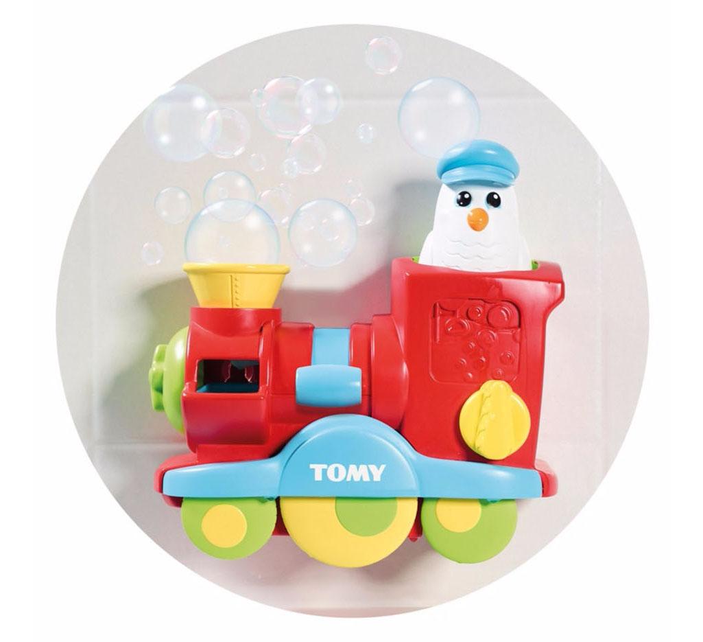 E72549C TOMY TOOMIES Bubble Blast Train Bath Water Toy Toddler ...