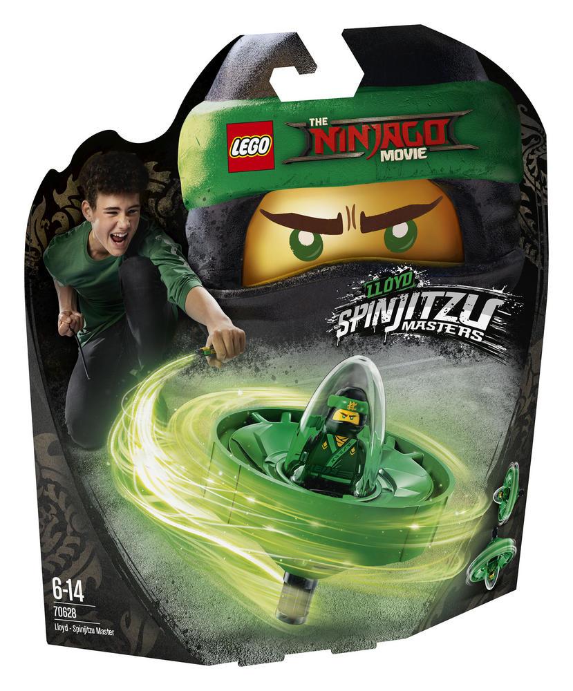 70628 LEGO NINJAGO MOVIE LLOYD - SPINJITZU MASTER