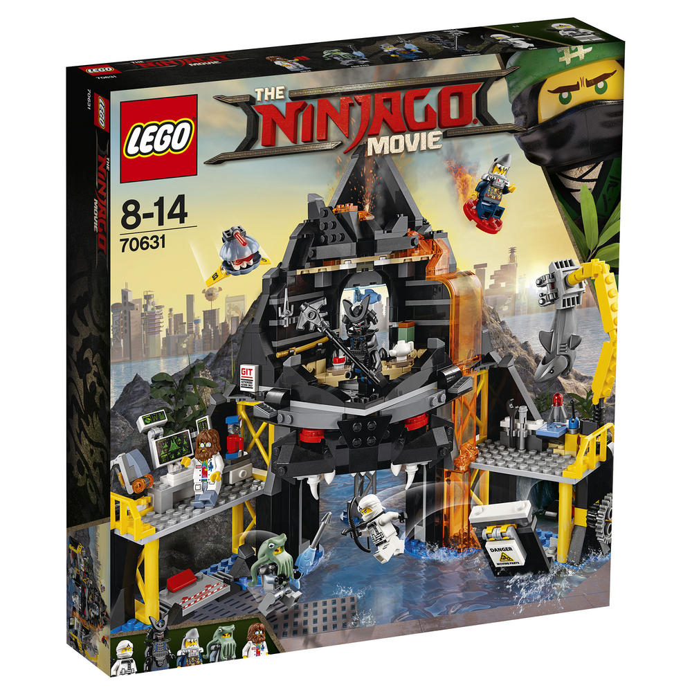 70631 LEGO Ninjago Movie Garmadon's Volcano Lair