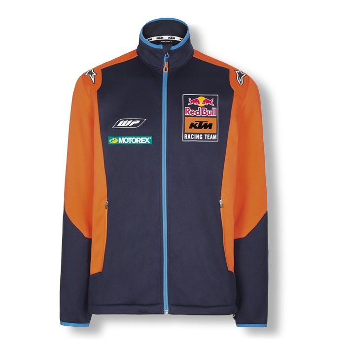 MotoGP Red Bull KTM Factory Racing Team Mens Softshell Jacket by Alpinestars