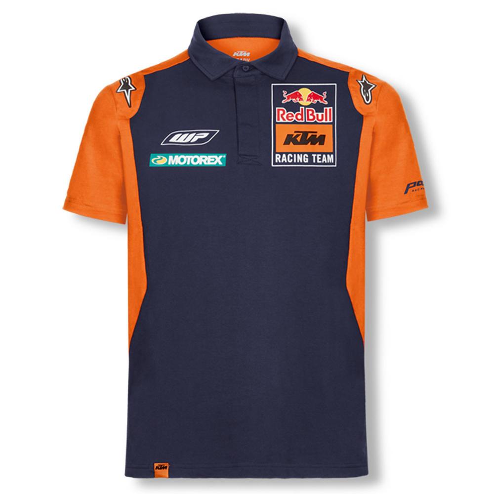2018 Red Bull KTM Factory Racing Team Mens OTL Polo Shirt by Alpinestars