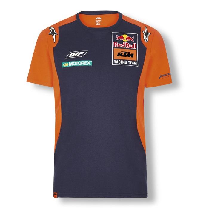 Red Bull KTM Factory Racing Team MotoGP Mens T-Shirt by Alpinestars