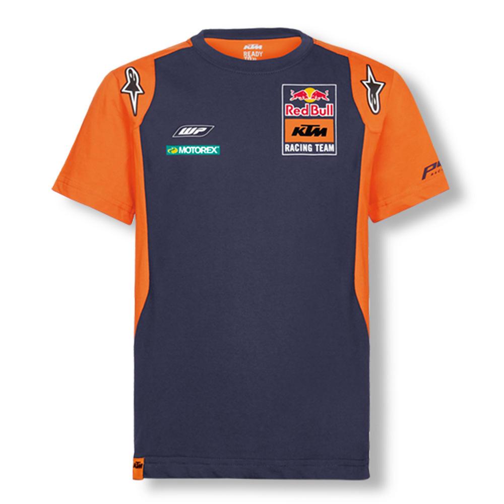 Red Bull KTM Factory Racing Team MotoGP Kids T-Shirt Childrens Boys Age 4 to 14