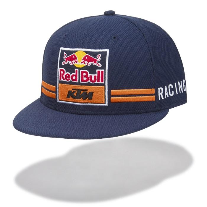 Red Bull KTM Factory Racing Team NEW ERA 9FIFTY Cap MotoGP Adult Flatbrim Style