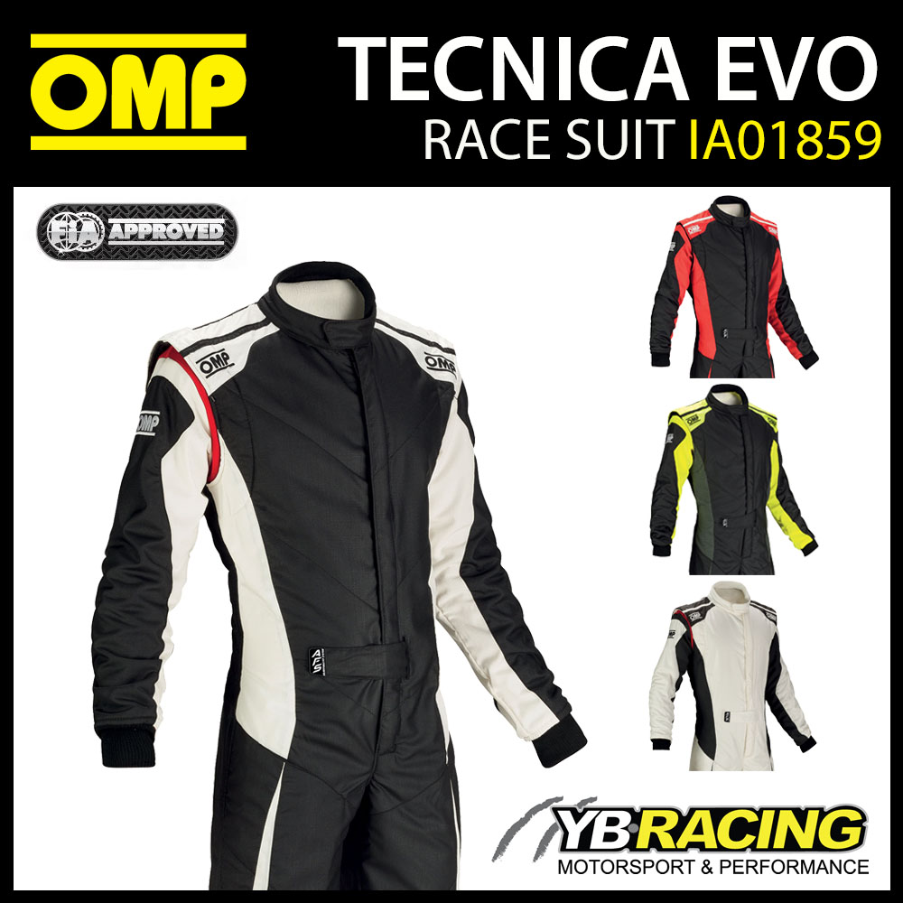 NEW! IA01859 OMP TECNICA EVO RACE SUIT
