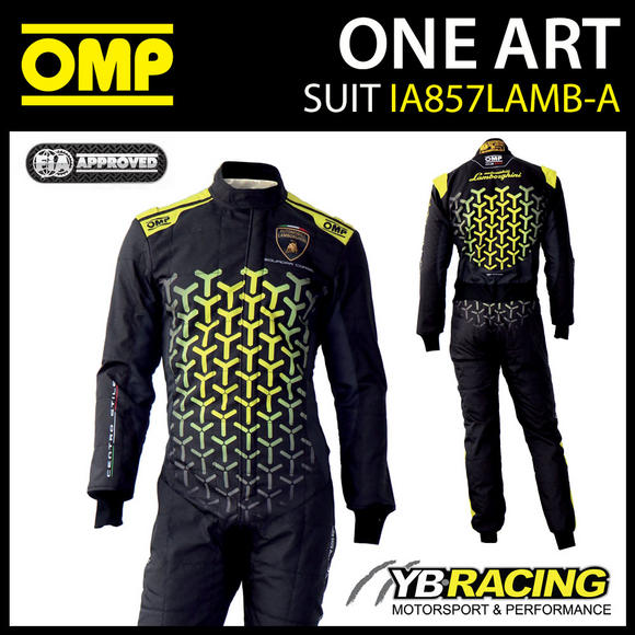 "IA857 OMP ONE ART RACE SUIT ""SPEED"" EDITION with LAMBORGHINI DESIGN"