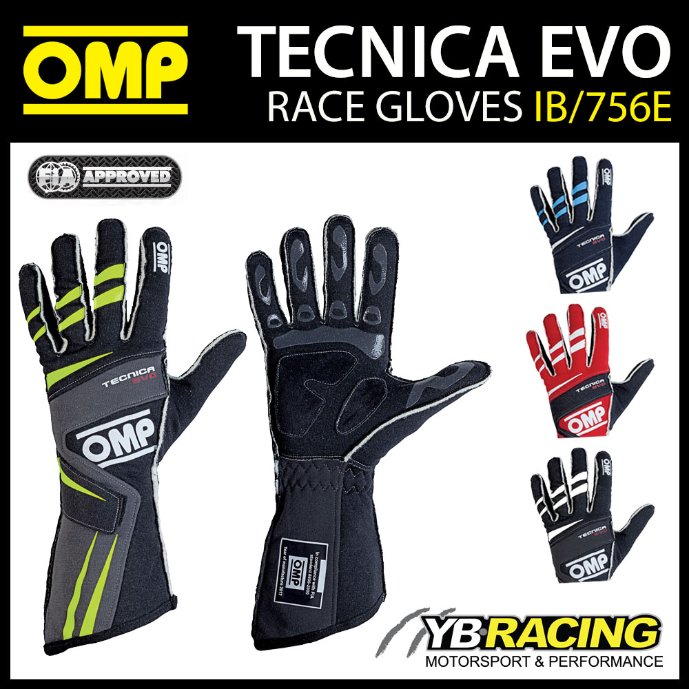 NEW! IB/756E OMP TECNICA EVO RACE GLOVES