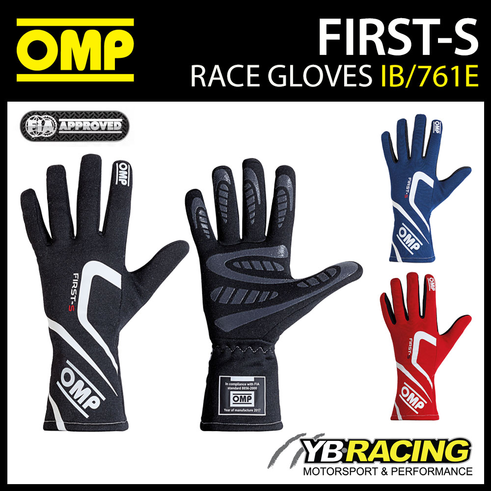 IB/761E OMP FIRST-S RACE GLOVES