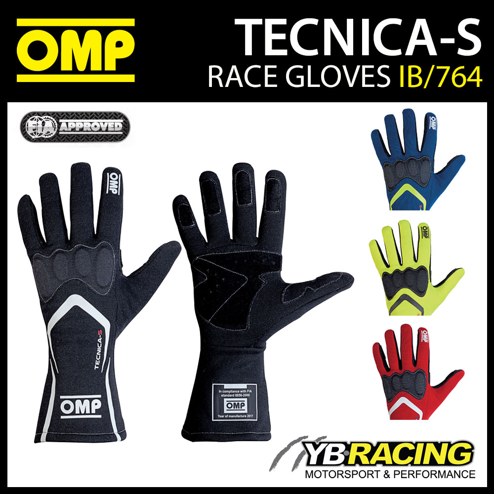 NEW! IB/764 OMP TECNICA-S RACE GLOVES