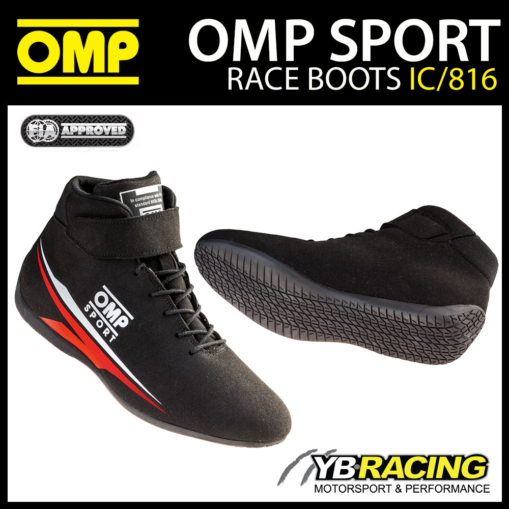 NEW! IC/816 OMP SPORT RACE BOOTS