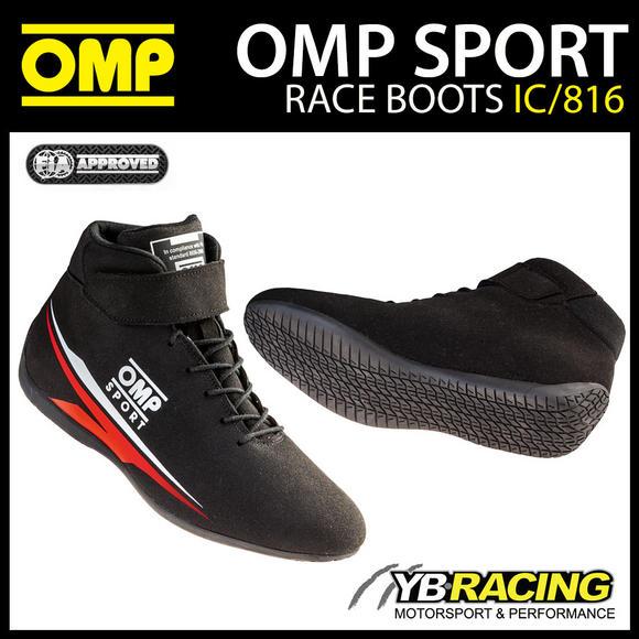 IC/816 OMP SPORT RACE BOOTS