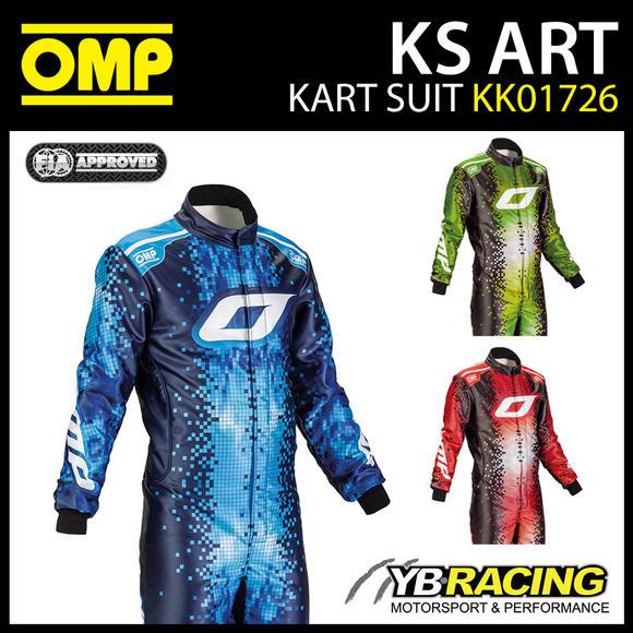 KK01726 OMP KS ART ADULT KART SUIT
