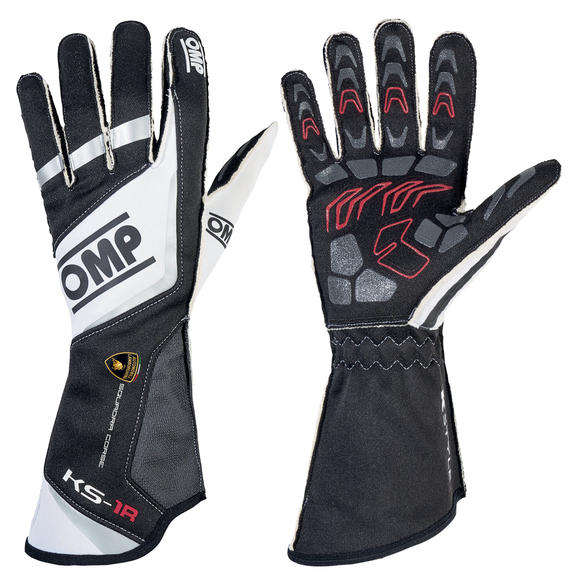 KK02740LAMB OMP KS-1R KARTING GLOVES LAMBORGHINI SPECIAL EDITION