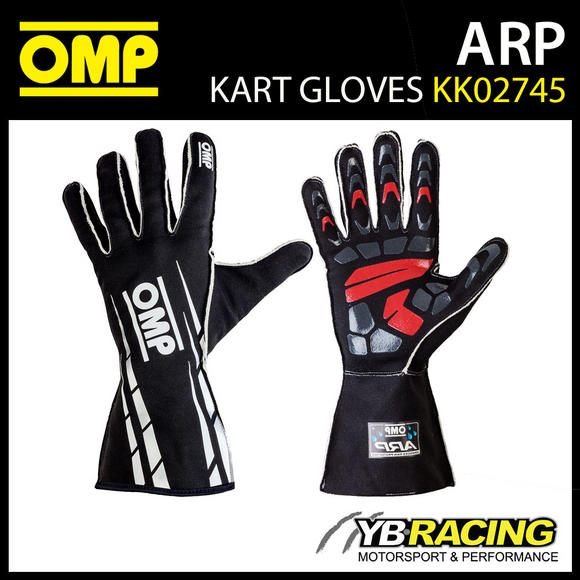 KK02745 OMP WATERPROOF KART GLOVES ADVANCED RAINPROOF (ARP)