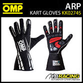NEW! KK02745 OMP WATERPROOF KART GLOVES ADVANCED RAINPROOF (ARP) FOR KARTING