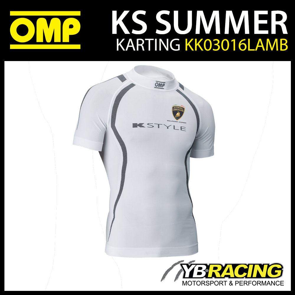 KK03016LAMB OMP KART KS SUMMER KARTING T-SHIRT LAMBORGHINI EDITION
