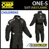 IA837 OMP ONE-S LAMBORGHINI REPLICA RACE SUIT OVERALLS for CHILDREN BOYS KIDS