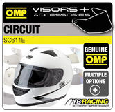 SC611E OMP CIRCUIT HELMET OPTIONAL EXTRA VISORS & ACCESSORIES BY OMP