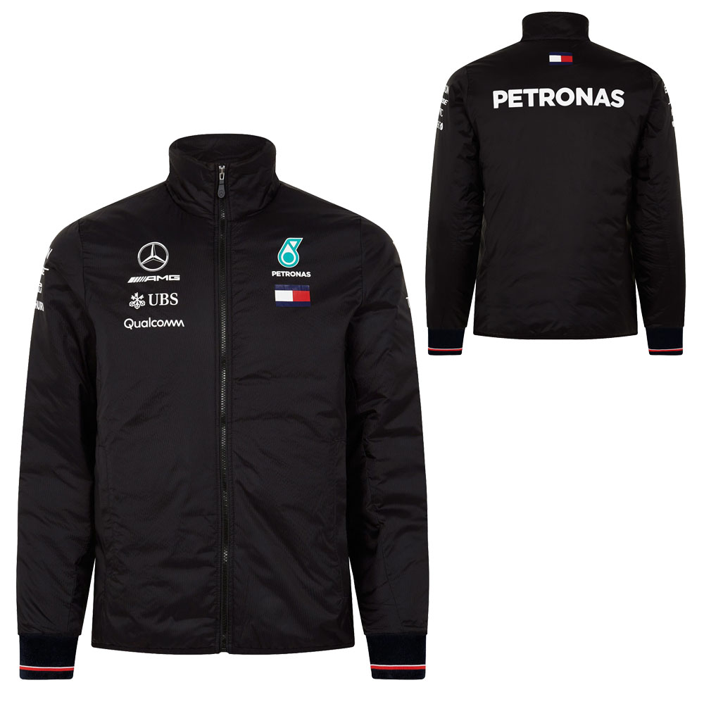 2018 Mercedes AMG F1 Lewis Hamilton Lightweight Padded Jacket by Tommy Hilfiger