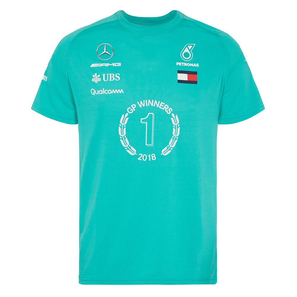 c08c211c5 2018 Mercedes-AMG F1 Lewis Hamilton 2018 Race Winner T-Shirt by Tommy  Hilfiger