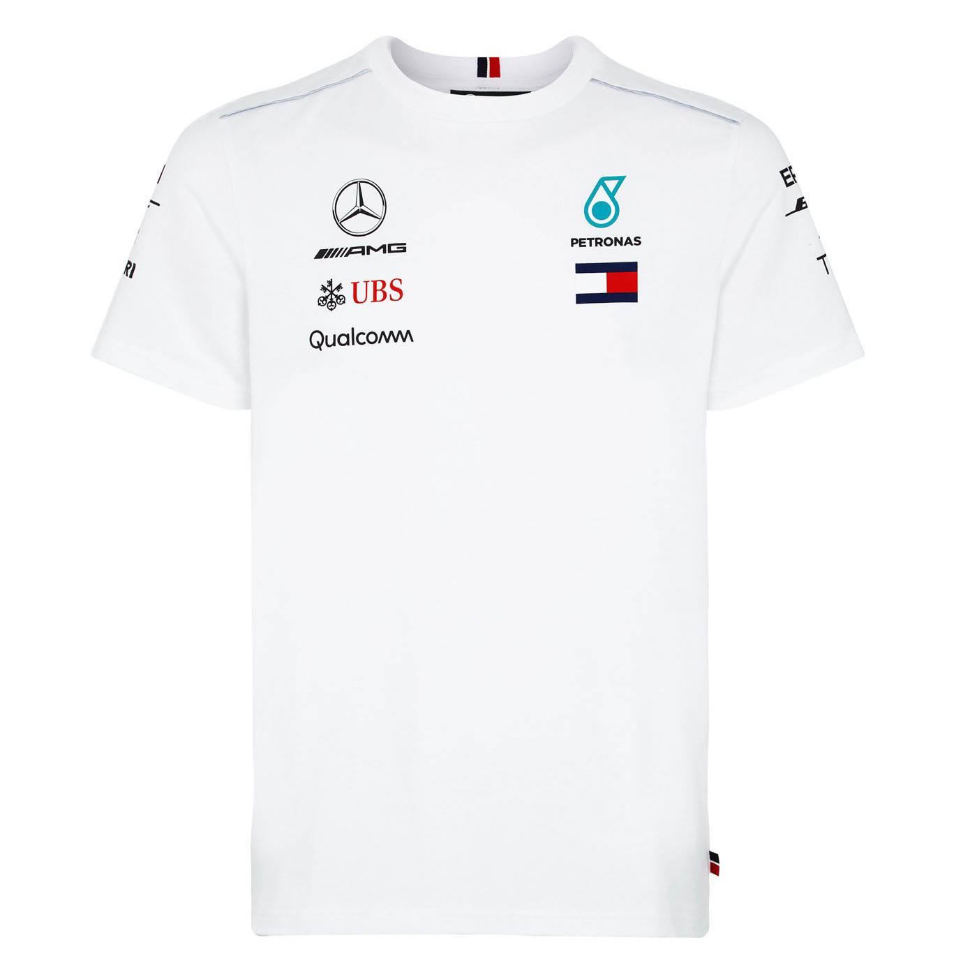 2018 Mercedes-AMG F1 Lewis Hamilton 2018 Race Winner T-Shirt by Tommy Hilfiger