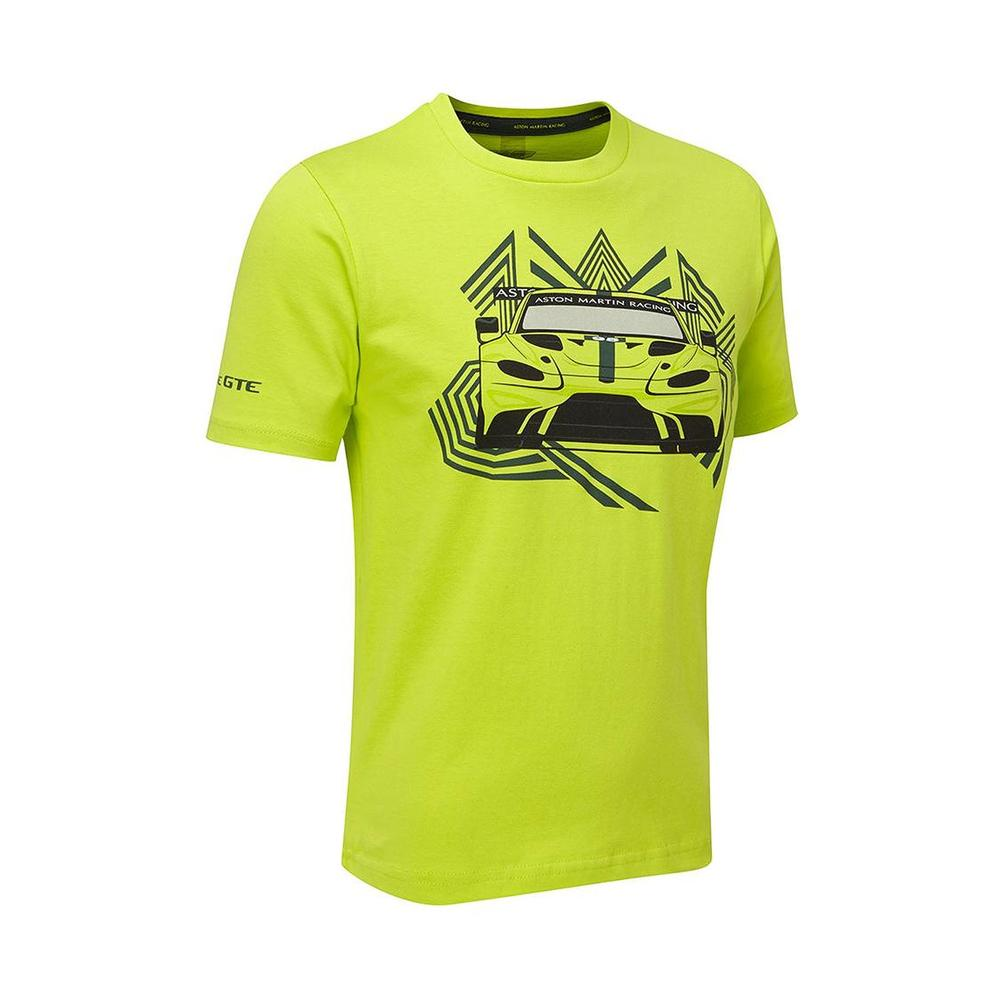 Sale! 2018 Aston Martin Racing Childrens Car T-Shirt Kids Junior Age 3 to 14 Yrs