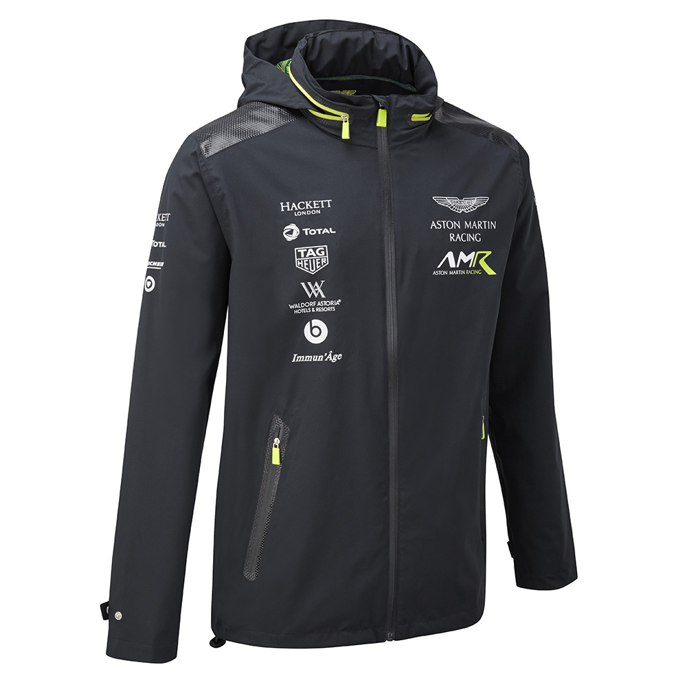 Sale! 2018 Aston Martin Racing Team Mens Lightweight Jacket Coat Sizes XS-XXXL