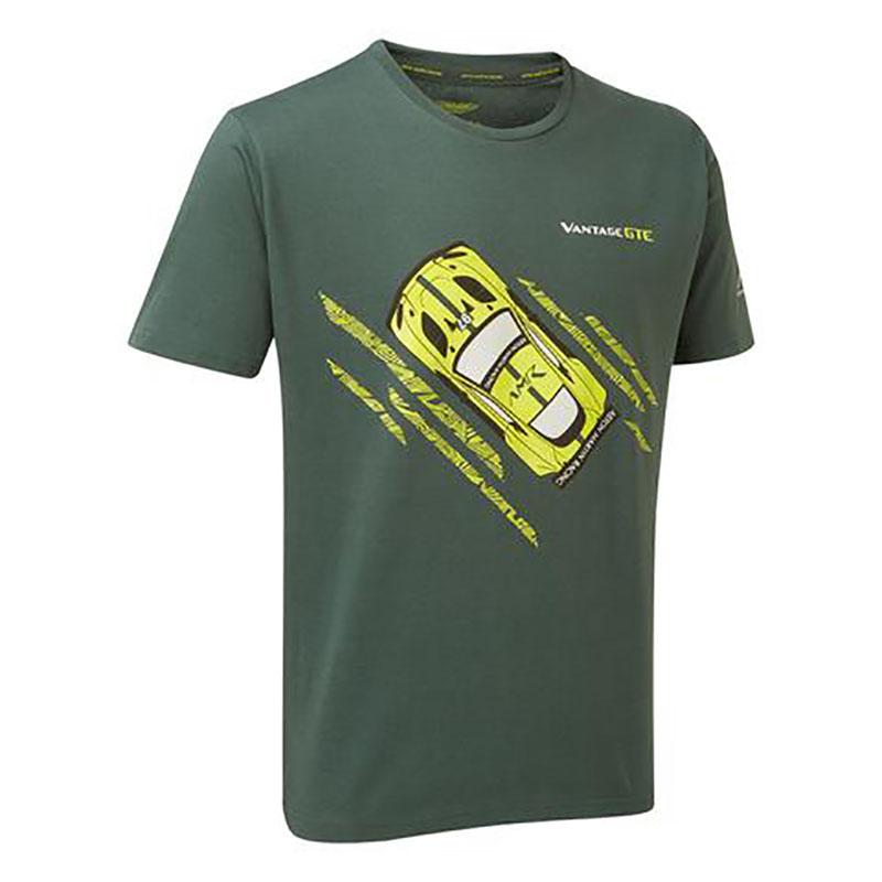 Sale! 2018 Aston Martin Racing Team Mens Car T-Shirt Green Male Sizes XS-XXXL