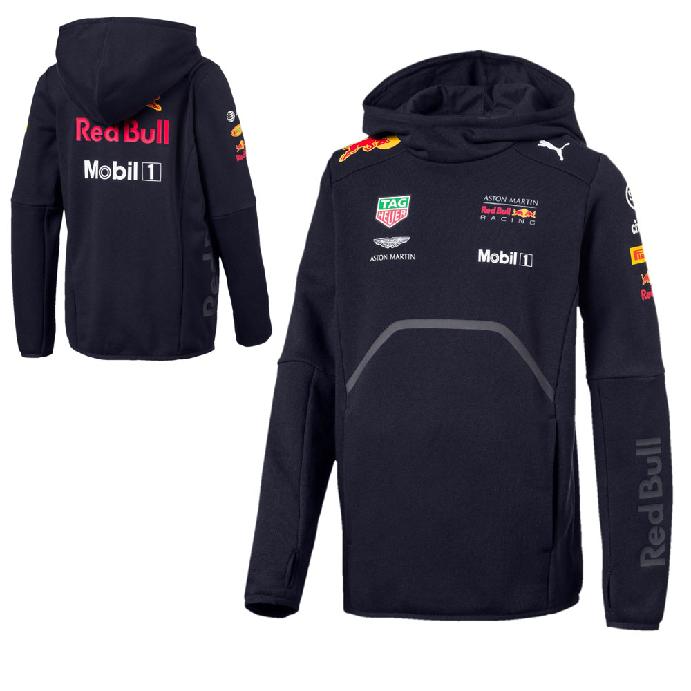Sale! Red Bull Racing F1 Team Childrens Hoodie Kids Sweatshirt Top Boys Junior
