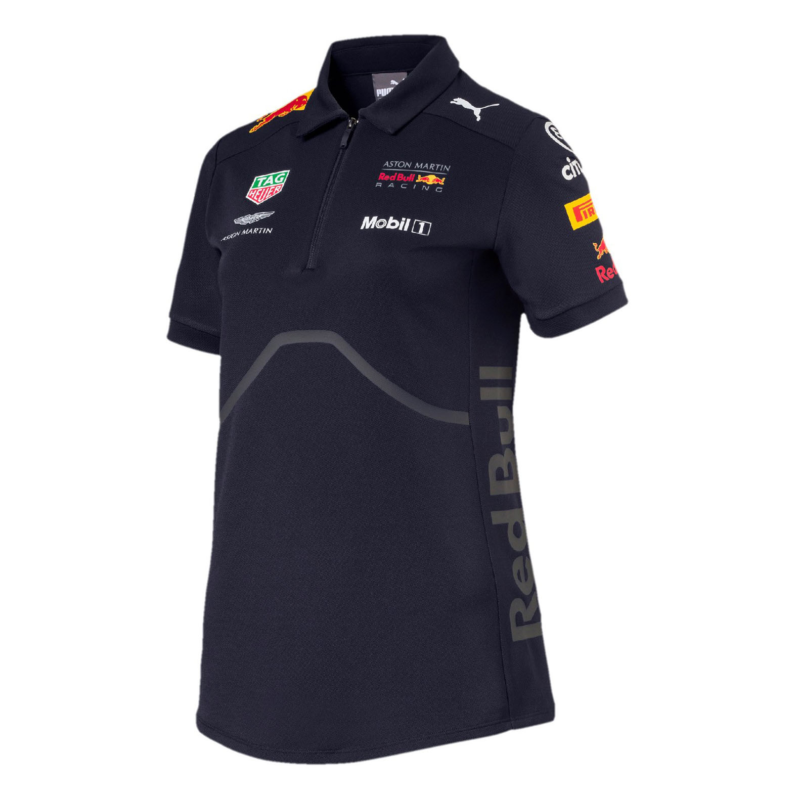 910f7a896d0 2018 Red Bull Racing F1 Team Ladies Womens Polo Shirt Official Puma Range