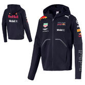 New! 2018 Red Bull Racing Formula One Team Mens Hooded Jacket Official F1 Puma