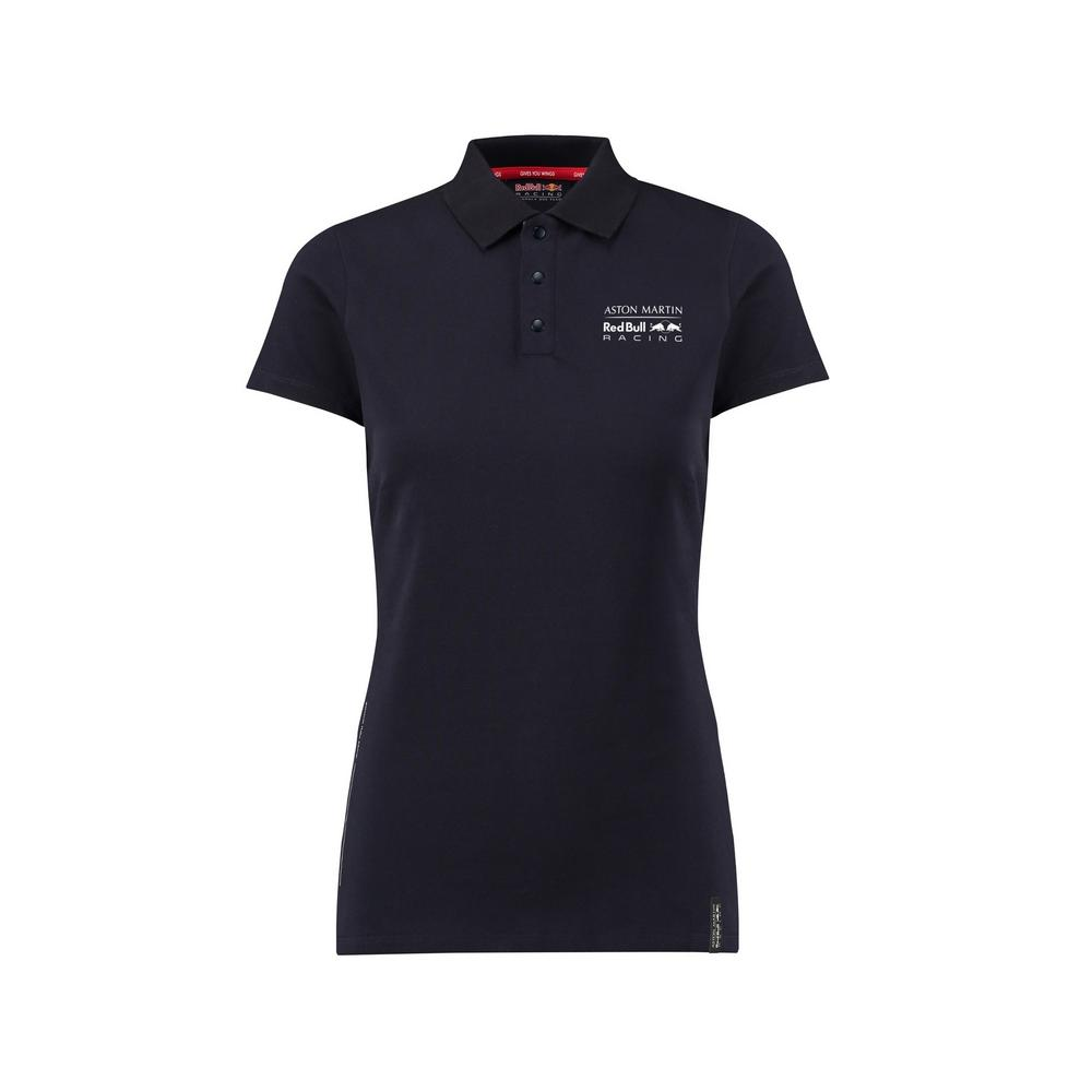 Sale! Aston Martin Red Bull Racing Ladies Seasonal Polo Shirt Womens Girls Femal
