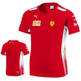 2018 Scuderia Ferrari F1 Formula One Team Childrens T-Shirt Kids Boys Ages 7-14