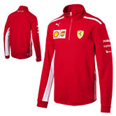 2018 Ferrari F1 Formula One Team Mens Half Zip Sweatshirt Jumper Genuine Puma