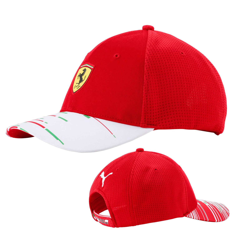 b460cd70b73 2018 Scuderia Ferrari F1 Formula One Team Cap by Puma Red - Adult One Size