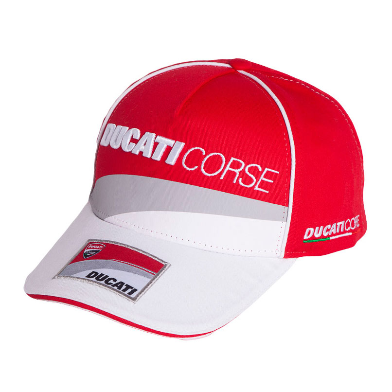 db1c7aec0e5b Details about 2018 Ducati Corse Team MotoGP Mens Baseball Cap Red/White 3D  Logo 100% Cotton