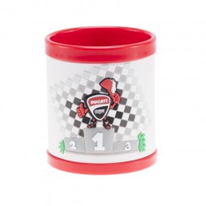 2018 Ducati Corse Official Childrens Podium Plastic Mug Drinks Cup Toddler Kids