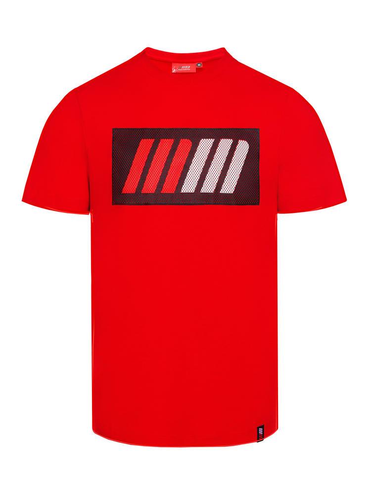 2018 Marc Marquez Honda MotoGP Mens Red T-Shirt Large Logo Official Merchandise