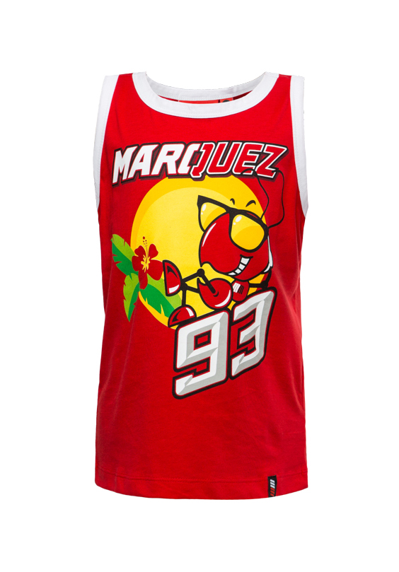 2018 Honda MotoGP Marc Marquez #93 Childrens Tank Top Vest Kids Boys Age 2-11