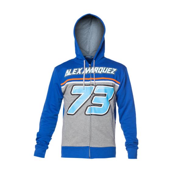 2018 Alex Marquez #73 Honda Moto2 Ladies Womens Fitted T-Shirt Tee Black//Blue