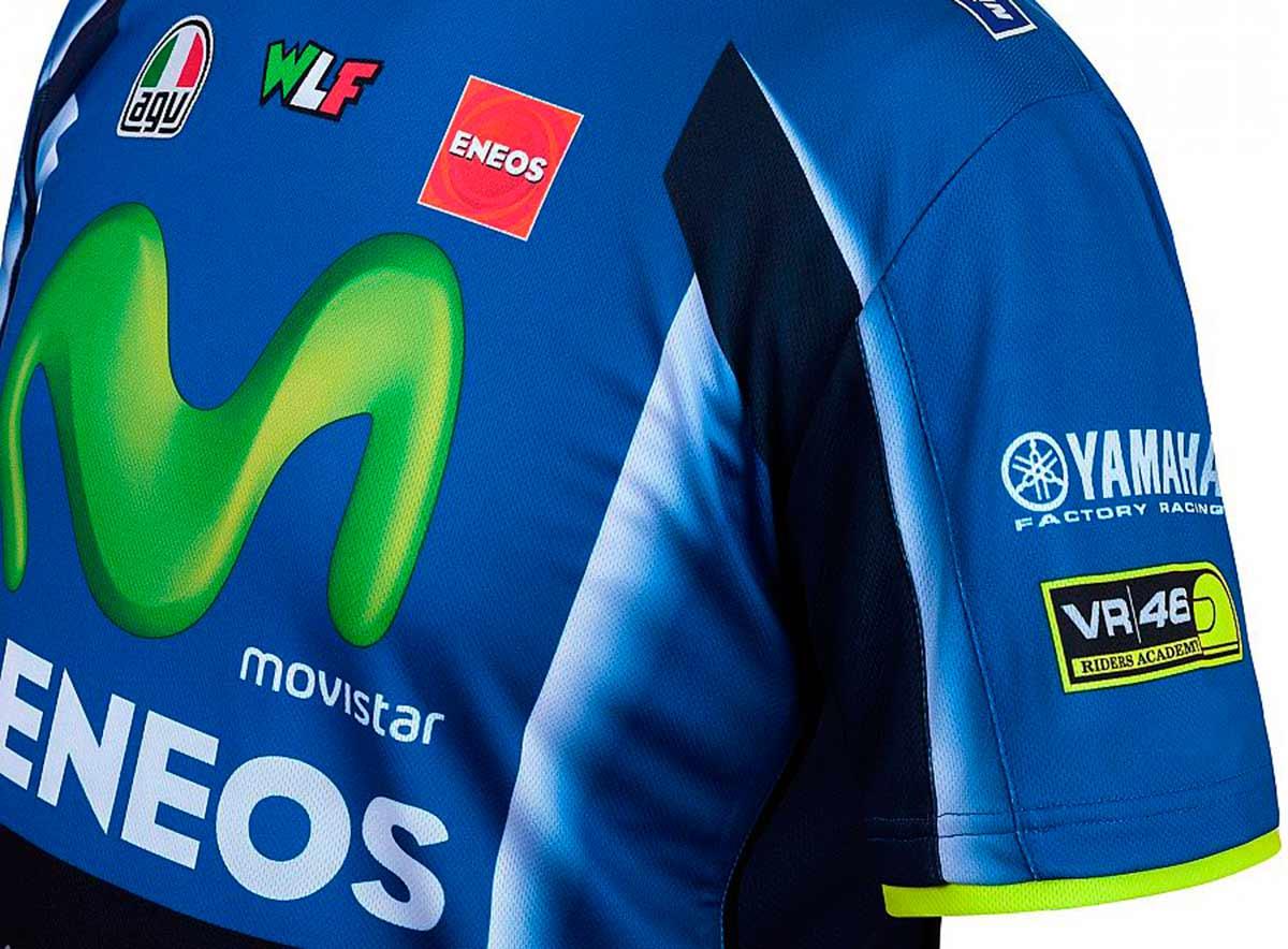 2019 Valentino Rossi VR46 Sweat /à Capuche pour Homme Officiel Yamaha Factory Racing
