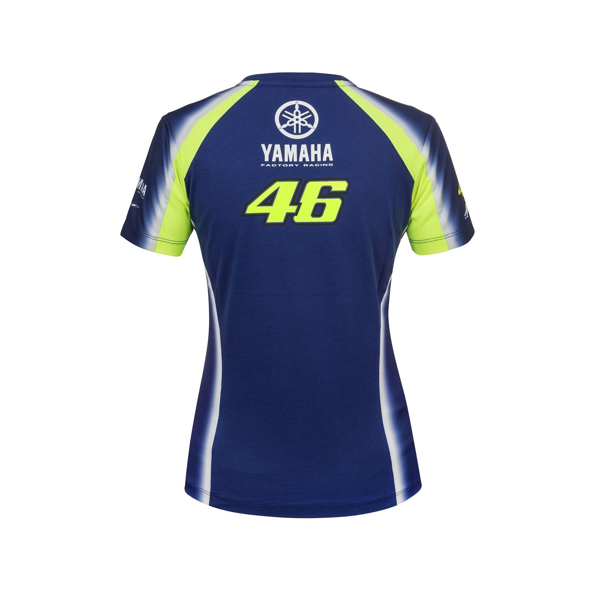 2018 VR46 Valentino Rossi #46 Ladies T-Shirt Womens Girls Yamaha Racing MotoGP