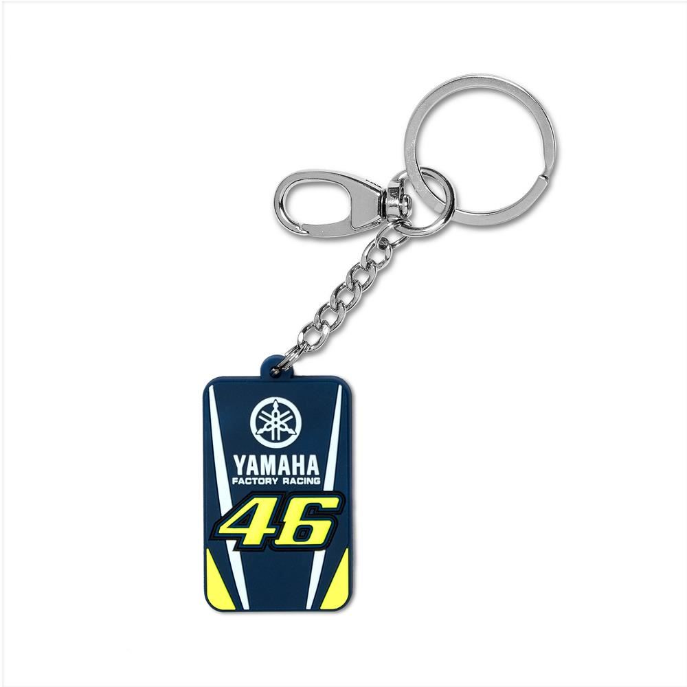 2018 VR46 Valentino Rossi #46 MotoGP Keyring Keychain Fob Yamaha Factory Racing