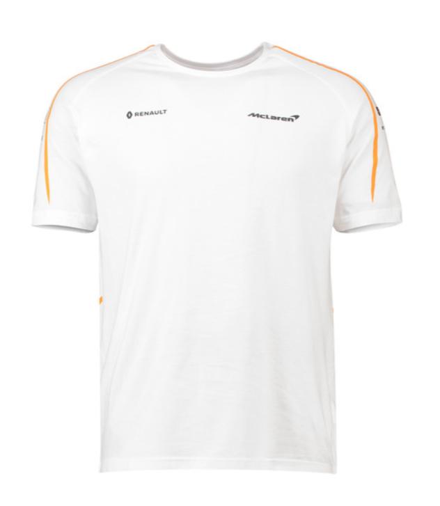 2018 fernando alonso official f1 driver mens t-shirt mclaren formula